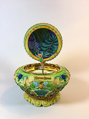 Tinkerbell Disney Neverland  Peter Pan  Musical Jewelry Box : You can fly