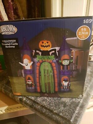 HALLOWEEN INFLATABLE HAUNTED HOUSE ARCHWAY