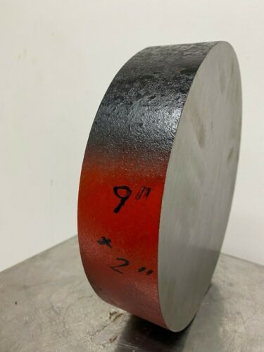 4140 Steel Round Bar Annealed 9 in Diameter x 2 in Length