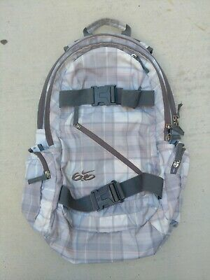 NIKE Skateboard BMX SB 6.0 Six.0 Plaid School Backpack Bag