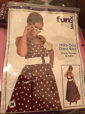 Women Polka Dot Dress Vintage Swing 50s 60s Swing Rockabilly Party Ball Fashion