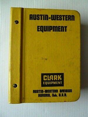 Vintage 1970s Clark Equipment Austin-western Sales Manual Graders Cranes