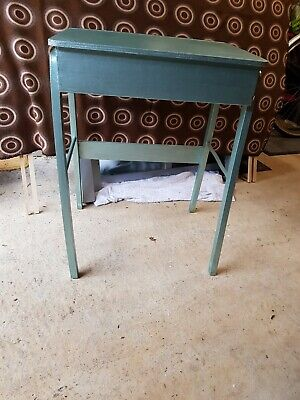 Anique chic upcycled  retro funky old school desk  Can Deliver Lincoln