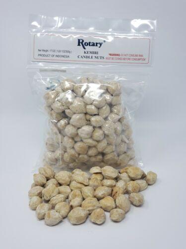 Candlenut Kukui Nut 1.1 lbs  (500g) Aleurites Moluccanus Kemiri (US Seller)