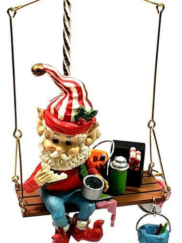 Enesco Christmas Ornament Bunkie Wee Tree Trimmers
