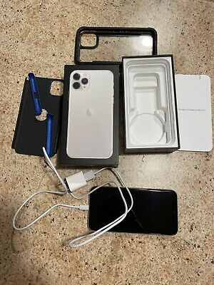 Apple iPhone 11 Pro - 256GB - Silver - Unlocked - Excellent Condition!