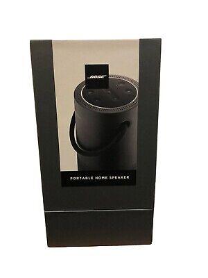 Bose Portable Home Speaker with Google Assistant & Amazon Alexa - Black