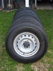 Set of 5 brand new Dunlop AT20 255/70/R16 tyres on factory rims Paddington Brisbane North West Preview