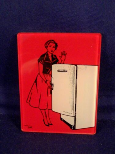 Vintage rare and splendid small advertising mirror 50