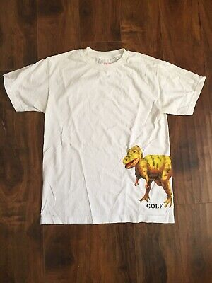 Golf Wang Dino T-shirt Sz Med White Odd Future Tyler The Creator