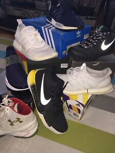 Need gone ASAP! Sale on Nike, Curry(Under amour), adidas boost