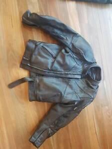 Frank Thomas Genuine Leather Motorcycle Jacket