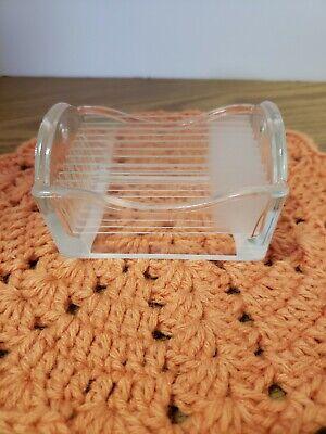 10 Blank Plain Microscope Slides Plus Glass Dish Holder.