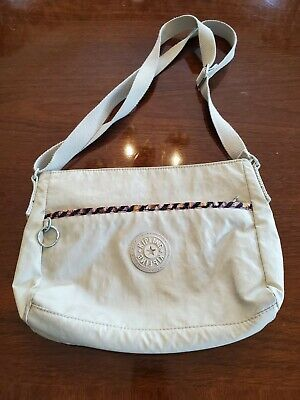 Women's Light Beige Kipling Purse