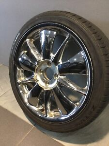 "CHROME STAR 17"" ALLOY WHEELS AND TYRES Carramar Fairfield Area Preview"