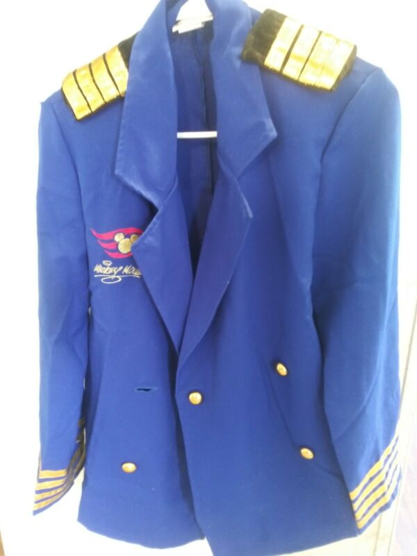 Disney Cruise Line Mickey Mouse Captain officer
