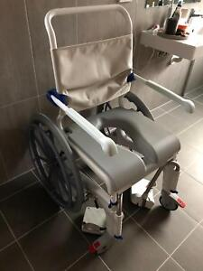 Wheelchair for the shower