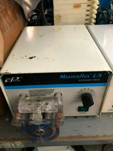 Cole-Parmer MasterFlex L/S 7554-90 Peristaltic Pump + Pumphead (w/30 Day WTY)