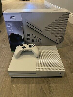 Microsoft Xbox One S 500GB White Star Wars Jedi Fallen Order
