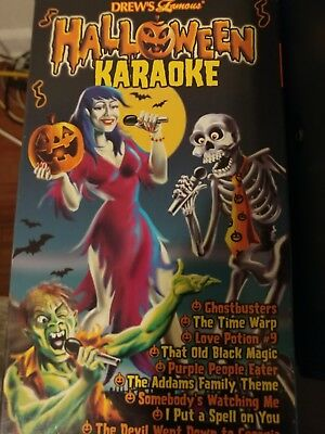 Drew's Famous HALLOWEEN KARAOKE Party Music VHS 10 Songs 2000 - Halloween Songs 00