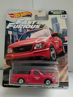 2020 Hot Wheels Premium Fast  Furious Ford F-150 SVT Lightning Motor City Muscle