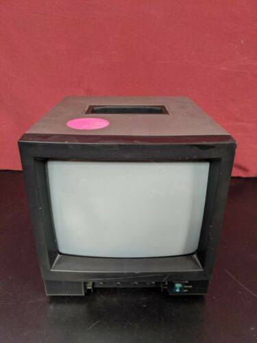 "CEM-09 9"" Black and White CRT Video Monitor / B/W / 230V 50HZ / European Plug"