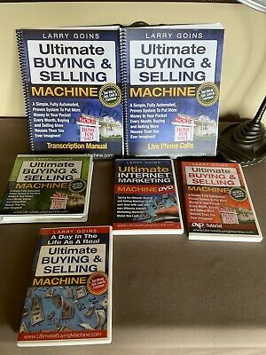 ULTIMATE BUYING & SELLING MACHINE BY LARRY GOINS Manuals, CD's & DVD Tutorials