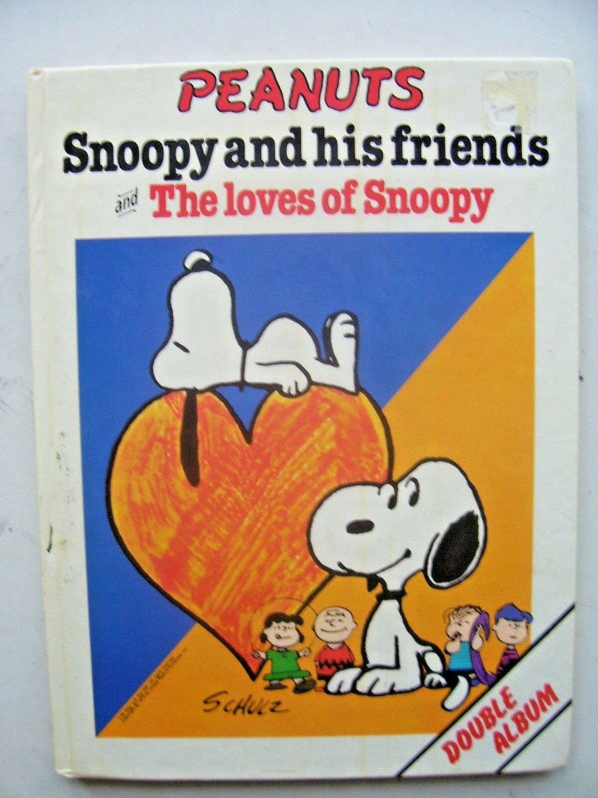 Peanuts, Snoopy and Friends by Schulz 1980  Hardback