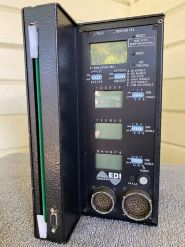 Eberle Design, Inc. EDI Model SSM18LE-PR Traffic Signal Control Conflict Monitor