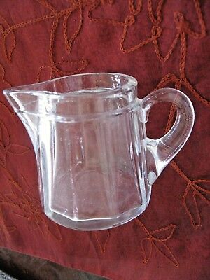 Heisey Medium Flat Panel Syrup  No Lid  No. 353  MINT  Diamond H Medium Flat Panel