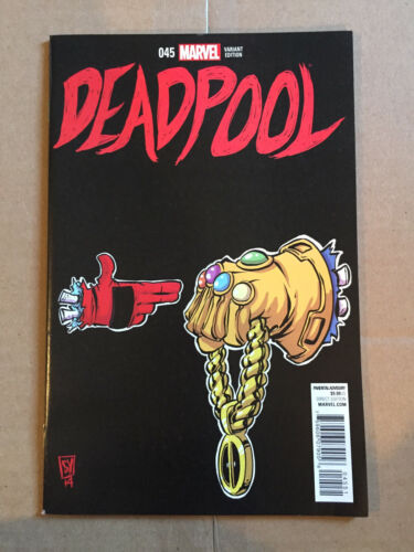 DEADPOOL 45 VARIANT RUN THE JEWELS SCOTTIE YOUNG COVER DEATH OF DEADPOOL