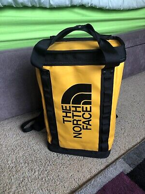 North Face Explore Fuse Box Backpack S - Yellow