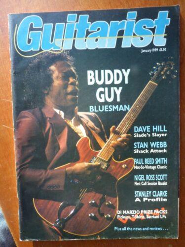 Guitarist Magazine, January, 1989