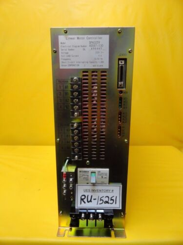 Nikon 4s587-130 Linear Motor Controller Spa325y Nsr-s204b Step-and-repeat Used