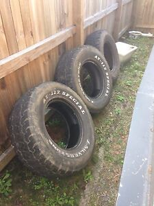 Thee 4x4 tyres Mullumbimby Byron Area Preview