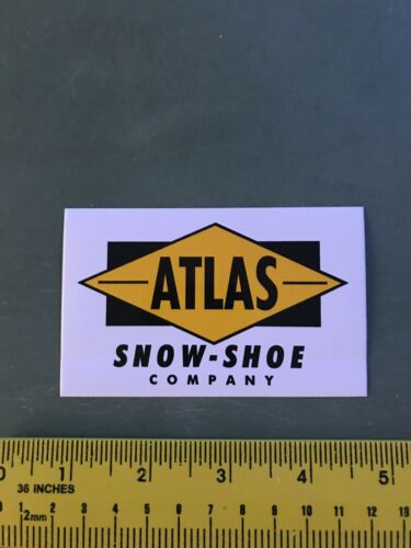 как выглядит atlas snowshoes Sticker/decal фото
