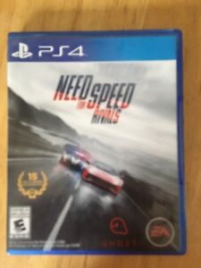 PS4 game. Need for Speed Rivals