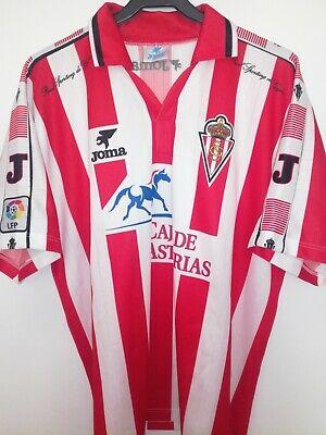SPORTING DE GIJON 1996-1997 Caja de Asturias camiseta shirt trikot maillot joma image