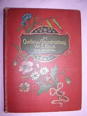 Die Quellen der Gesundmachung , E.Bauck , Erzählungen
