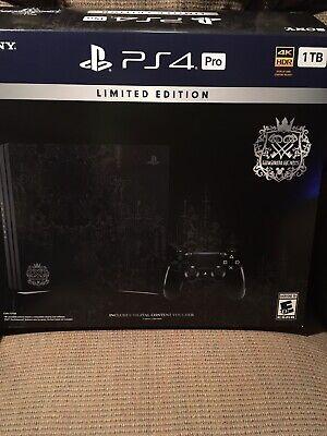 **BOX ONLY** Kingdom Hearts III PS4 PRO Limited Edition, Slight Tear
