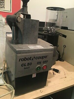 Robot Coupe Cl50d Continuous Dicing And Cutting Food Processor Workhorse