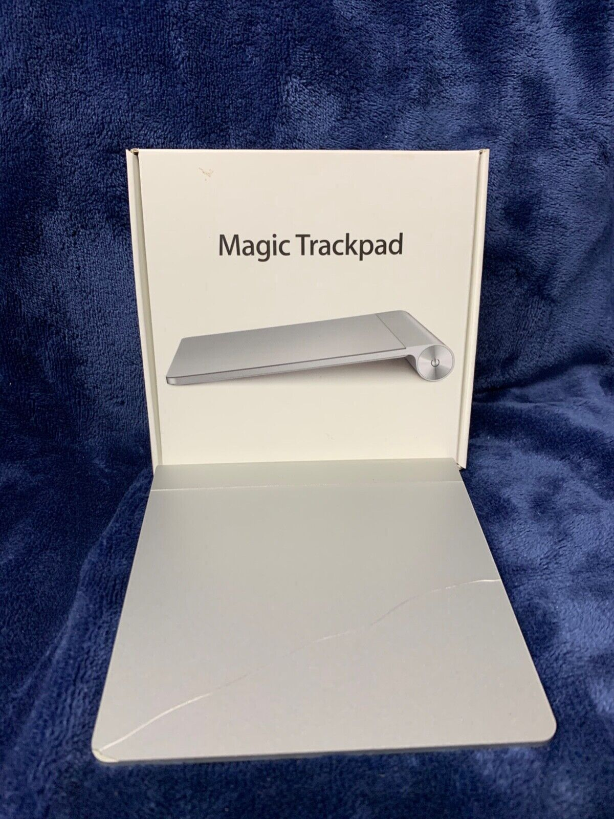 Apple Magic Trackpad 1 Wireless/Bluetooth - CRACKED BUT WORKS - A1339 MC380LL/A - $35.00