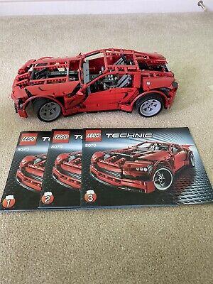 Lego Supercar Technic (8070) - Motorized - Prebuilt - Full Set