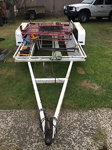 Duel axle quad bike or Polaris trailer, hunting trailer, car trailer Barrack Heights Shellharbour Area Preview