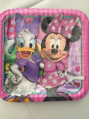 Minnie Mouse Bow-tique Daisy Duck Party Supplies-Large Plates-8ct - Daisy Duck Party Supplies