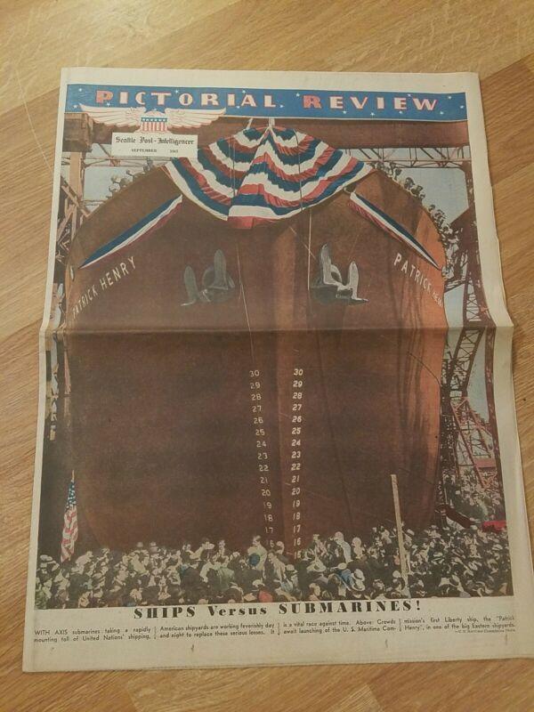 Seattle Post Intelligencer September 1942