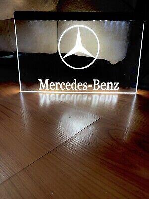 MERCEDES BENZ LED NEON LIGHT SIGN 8x12