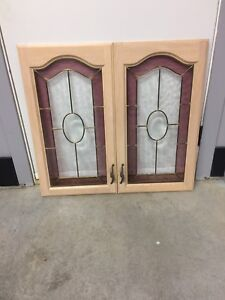 """Kitchen cabinet doors in perfect condition   16.25""""x 30"""""""
