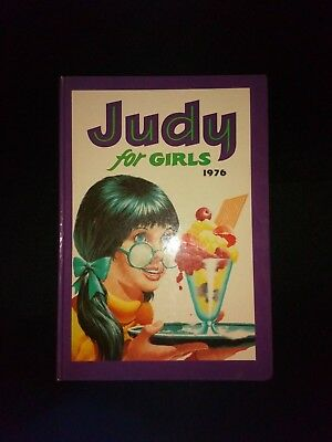 Judy For Girls 1976 Vintage Childrens Comic Hardback Annual