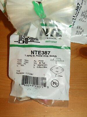 Npn Power Transistor Nte387